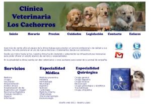 """Clínica veterinaria """"Los Cachorros"""""""
