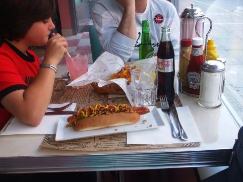 Hot Dog en Peggy Sue's