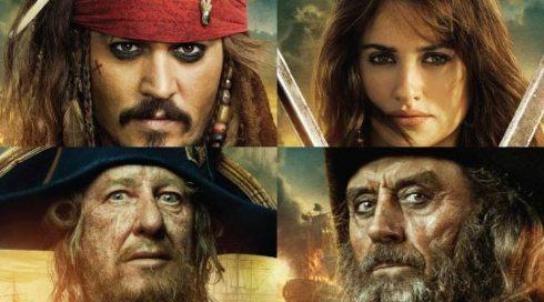 Personajes de Piratas del Caribe 4