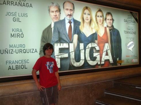 Fuga, Teatro Alcázar
