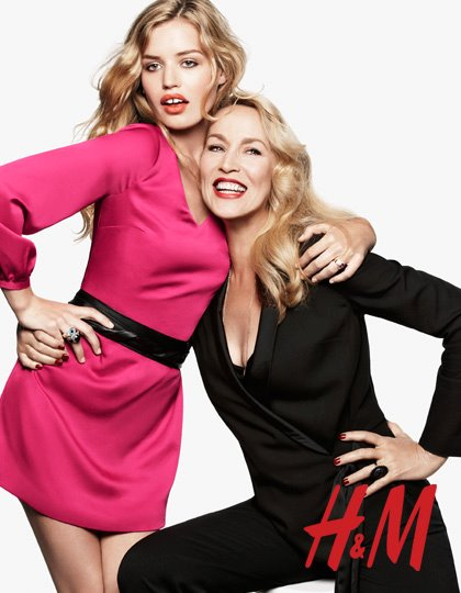 Jerry Hall y Georgia May Jagger