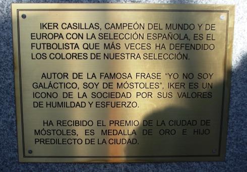 Avenida de Iker Casillas