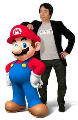 Miyamoto y Mario