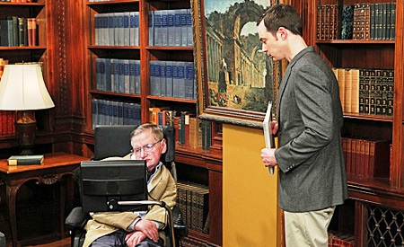 The big bang theory, Stephen Hawking