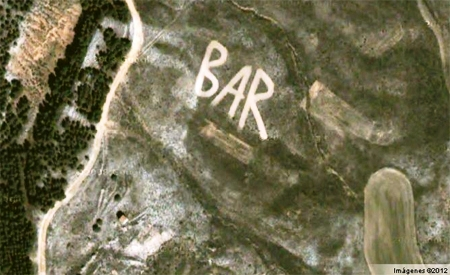 Sorpresas en Google Earth