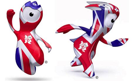 Mascotas Juegos Olímpicos Londres 2012