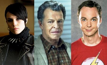 Lisbeth Salander,Walter Bishop y Sheldon Cooper