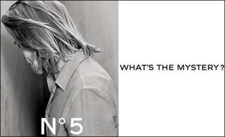 Avance de la campaña de Brad Pitt para Chanel