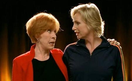 Carol Burnett y Jane Lynch