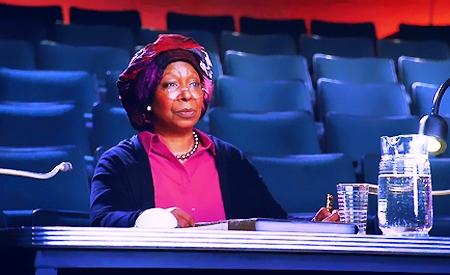 Whoopi Goldberg escuchado las audiciones