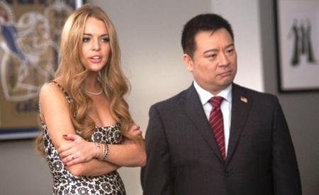 Lindsay Lohan y Rex Lee