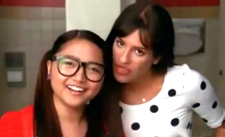 Charice Pempengco y Lea Michele