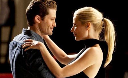 Matthew Morrison y Gwyneth Paltrow