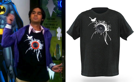 Camiseta Raj, The Big Bang Theory