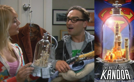 Ciudad de Kandor, The Big Bang Theory