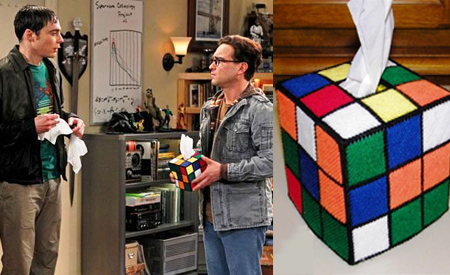 Cubo de Rubik, The big bang theory