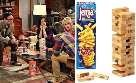 Jenga, The Big Bang Theory