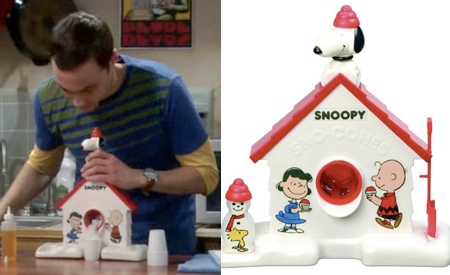 Heladera Snoopy, The Big Bang Theory