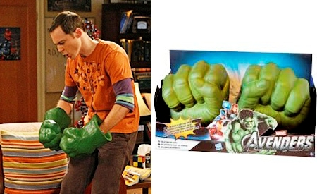 Mega Puños de Hulk, The Big Bang Theory