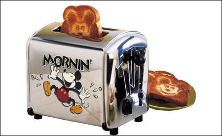 Tostadora de Mickey Mouse.