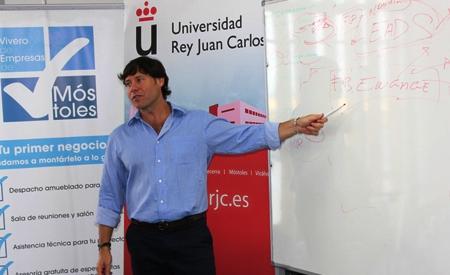 Salvador del Toro en Vivero de Empresas de Móstoles