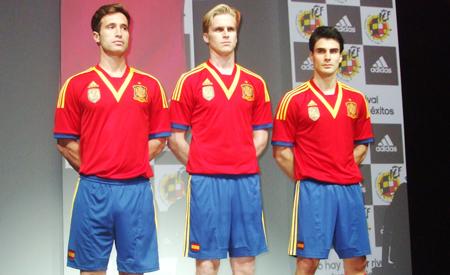 Presentación nueva equipación de la Selección Española