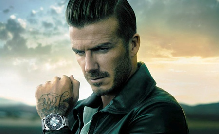 David Beckham y Breitling