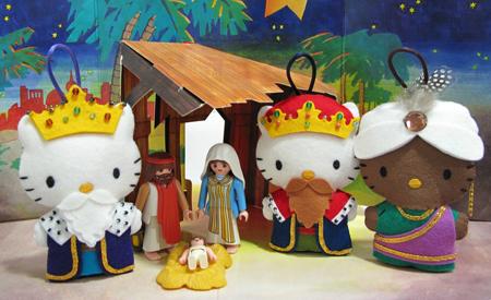 Reyes Magos versión Hello Kitty