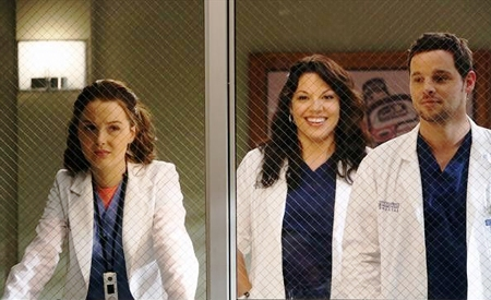 Jo Wilson, Callie y Alex, Anatomía de Grey