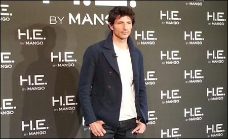 Andrés Velencoso para Mango