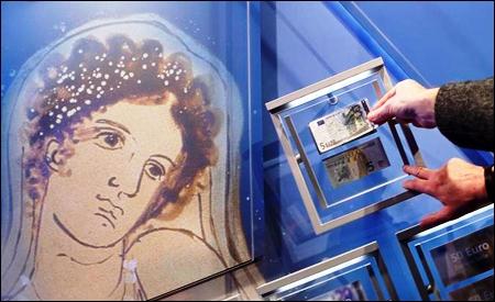 Retrato de Europa en los nuevos billetes de 5 euros