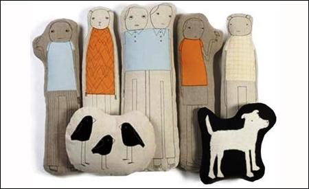 Cojines Figures de k studio