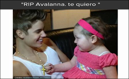 Justin Bieber y Avalanna Routh