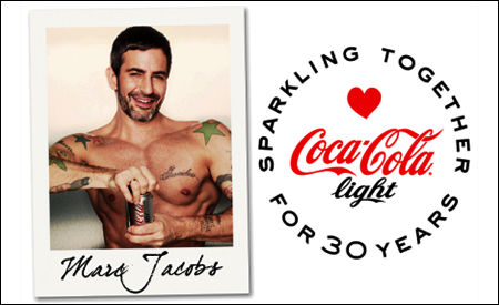 Coca-Cola Light y Marc Jacobs