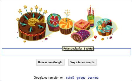 ¡Feliz cumpleaños, Beatriz!