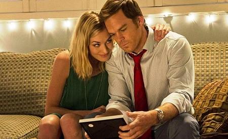 Hannah McKay y Dexter Morgan