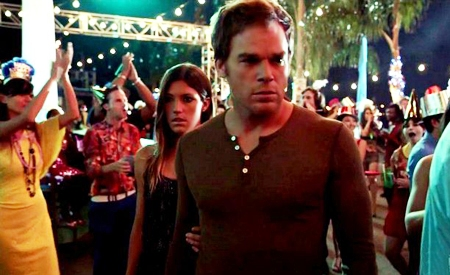 Dexter y Debra Morgan