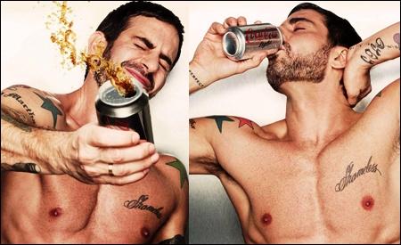 Marc Jacobs para Coca-Cola Light