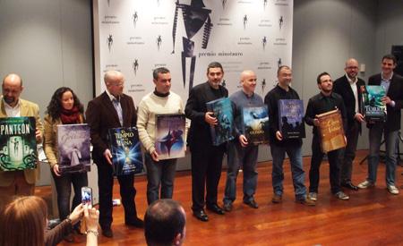 Décimo aniversario del Premio Minotauro