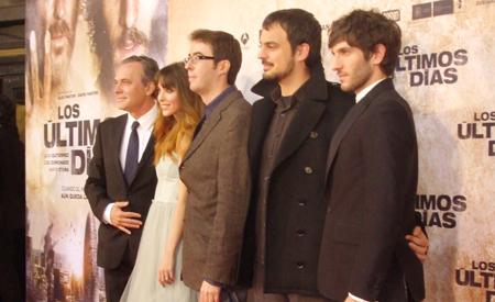 José Coronado, Leticia Dolera, David Pastor, Àlex Pastor y Quim Gutiérrez
