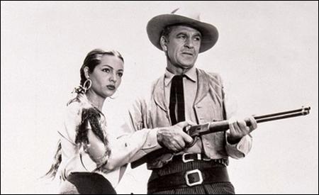Sara Montiel y Gary Cooper