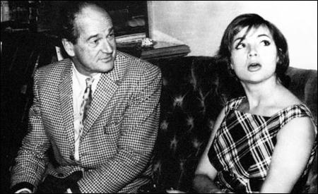 Anthony Mann y Sara Montiel