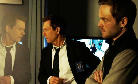 Kevin Bacon y Shawn Ashmore