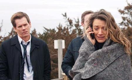 Kevin Bacon y Natalie Zea
