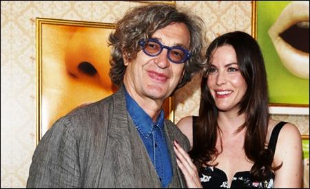 Win Wenders y Liv Tyler en Cannes