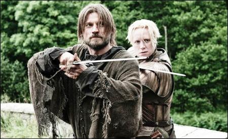 Jaime Lannister y Brienne de Tarth