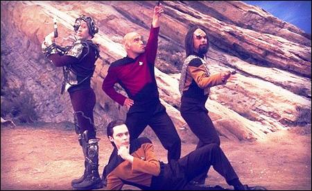 Howard, Leonard, Raj y Sheldon