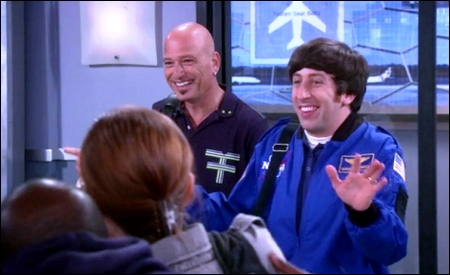 Howie Mandel y Howard Wolowitz