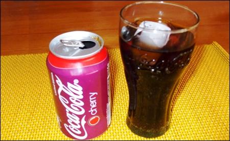 La nueva Coca Cola Cherry