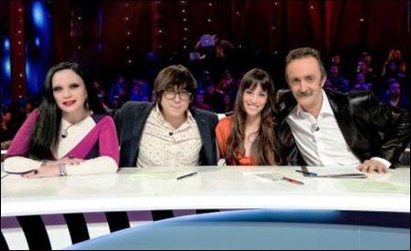 El jurado: Alaska, Luis Piedrahita, Almudena Cid y Santi Rodríguez